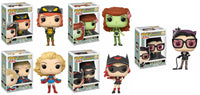 Funko Heroes Pop! - DC Bombshells - Set of 5