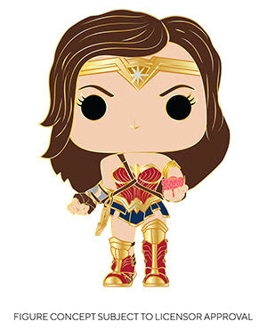 Funko Heroes Pop Pin - Wonder Woman