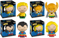 Set of 4 Funko Heroes Dorbz - DC Super Heroes -