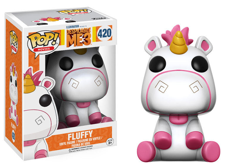 Funko Movies Pop! - Despicable Me 3 - Fluffy #420