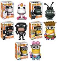 Set of 5 Funko Movies Pop!  - Despicable Me 3