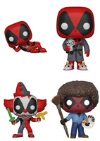 Funko Marvel Pop - Deadpool Parody set of 4
