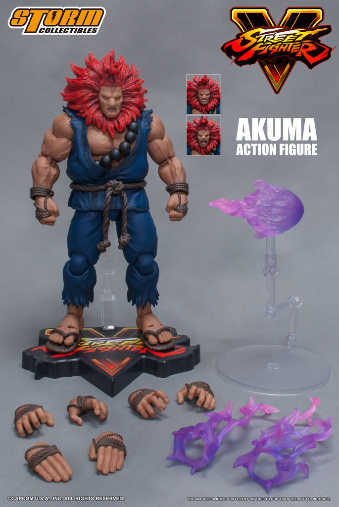 Storm Collectibles 1/12 Action Figure: Street Fighter V - Akuma Pre-Order