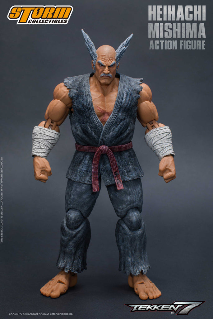 Storm Collectibles - Tekken 7 - Heihachi Mishima - 1/12 Action Figure