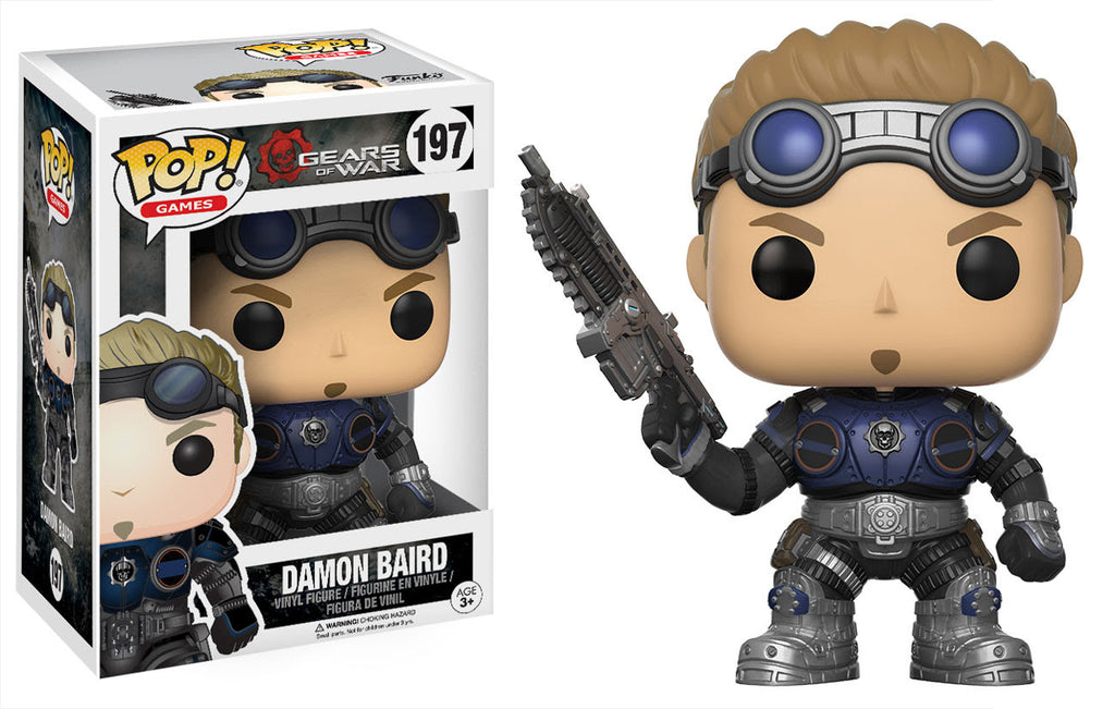 Funko Games Pop! - Gears of War - Damon Baird #197