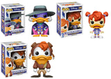 Set of 3 Funko Disney Pop! - Darkwing Duck