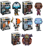 Set of 5 Funko Games Pop! - Destiny - Cayde-6, Ikora, Lord Shaxx, Oryx and Zavala