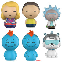 Funko Animation Dorbz - Rick and Morty: Set of 6 including Chase - Pre-Order