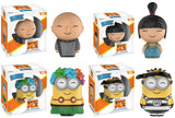 Set of 4 Funko Movies Dorbz - Despicable Me 3