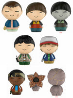 Set of 8 Funko Television Dorbz - Stranger Things - 6 Regular and 2 Chase- Pre-Order