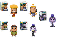 Funko Disney Pop! - Set of 5 Emperor's New Groove Pop! Chase Included