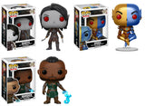 Set of 3 Funko Games Pop! - Elder Scrolls - Morrowind Vivec, Naryun and Warden