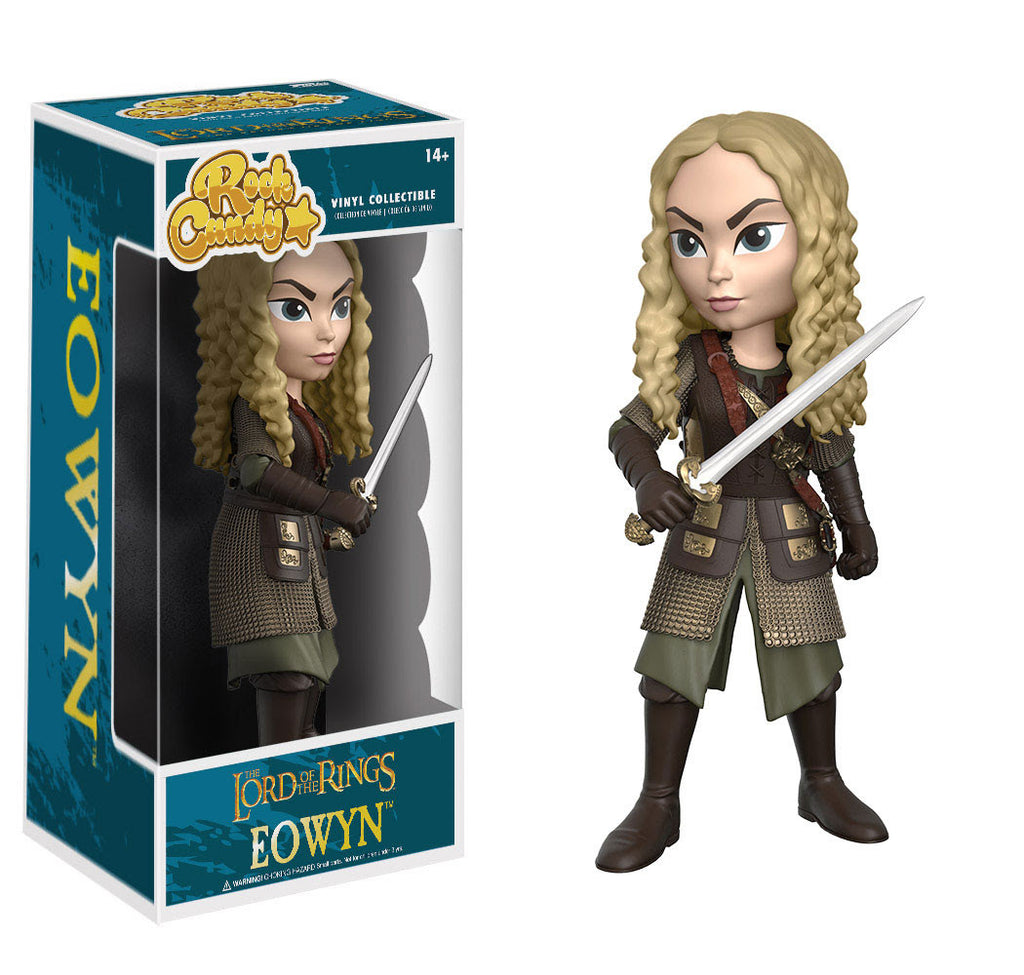 Funko Movies Rock Candy Vinyl Figure! Lord of the Rings - Eowyn
