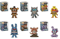 Funko Book Pop! - Friday Night at Freddy's - Set of 6