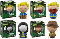 Set of 4 Funko Games Dorbz - Fallout - Rooted + Chase,  Grim Reaper's Srpint, Mysterious Stranger