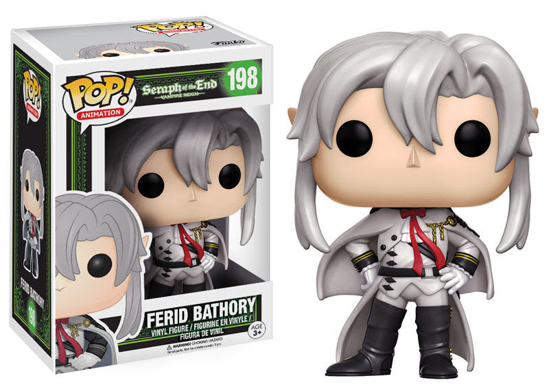 Funko Animation Pop! Seraph of the End Vampire Reign - Ferid Bathory #198