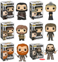 Set of 6 Funko Television Pop! Game of Thrones