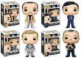 Funko Movie Pop! The Godfather - Set of 4 Vito, Fredo, Michael and Sonny - Videguy Collectibles