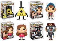 Set of 4 Funko Disney Animation Pop! - Gravity Falls