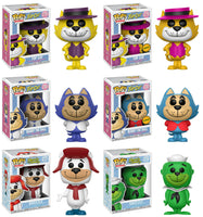 Set of 6 Funko Animation Pop! - Hanna Barbera Top Cat and Breezly & Sneezly Pre-Order
