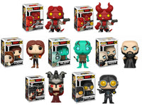 Set of 7 Funko Comics Pop! - Hellboy - Hellboy - 6 Common and 1 Chase