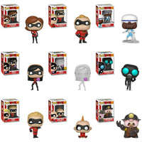 Funko Disney Pop! - Incredibles 2 - Set of 9 w/ Chase - Pre-Order