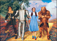 Magnet: Wizard of Oz - Cast on Yellow Brick Road