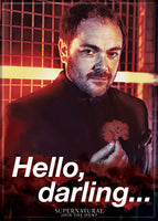 Magnet: Supernatural - Crowley - Hello, Darling