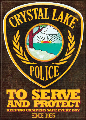 Magnet: Friday the 13th - Crystal Lake Police