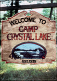 Magnet: Friday the 13th - Welcome to Camp Crystal Lake