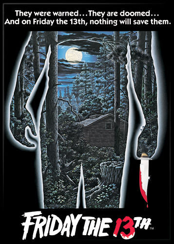 Magnet: Friday the 13th - Movie Poster