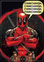 Magnet: Dead Pool - Chimichanga