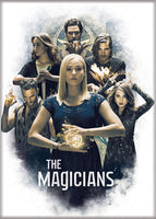 Magnet: The Magicians - Cast on White