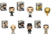 Set of 6 James Bond Funko Movies Pop!