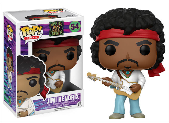 Funko Rocks Pop! - Purple Haze Properties - Jimi Hendrix #54<br>Pre-Orded