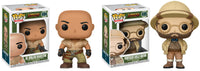 Set of 2 Funko Movies Pop! - Jumanji - Professor Shelly Oberon & Dr. Smolder Bravestone - Pre-Order
