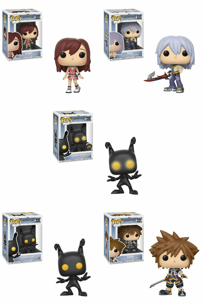 Set of 5 Funko Disney Pop! - Kingdom Heart - 4 Regular and 1 Chase - Pre-order