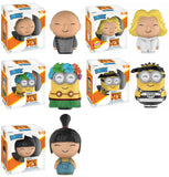 Set of 5 Moveis Dorbz - Despicable Me 3 Vinyl Figures