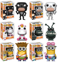 Set of 6 Funko Movies Pop! - Despicable Me 3 Vinyl Figures