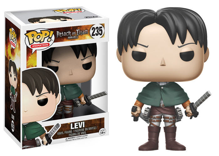 Funko Animation Pop! - Attack on Titan Levi #235<br>Pre-Order