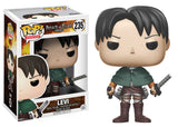 Set of 4 Funko Animation Pop! - Attack on Titan 2 Regular & 2 6in Super Sized Pop!s