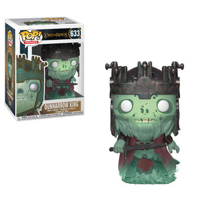 Funko  Movies Pop - Lord of the Rings S4 - Dunharrow King #633