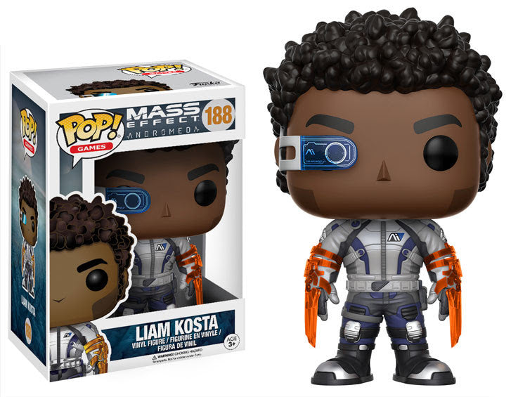 Funko Game Pop! Mass Effect Andromeda - Liam Kosta #188 - Videguy Collectibles