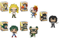 Funko Animation Pop - My Hero Academia - Set of 5 - Pre-Order