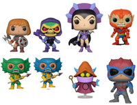 Set of 8 Funko Television Pop! - Masters of the Universe S2 - Pre-Order