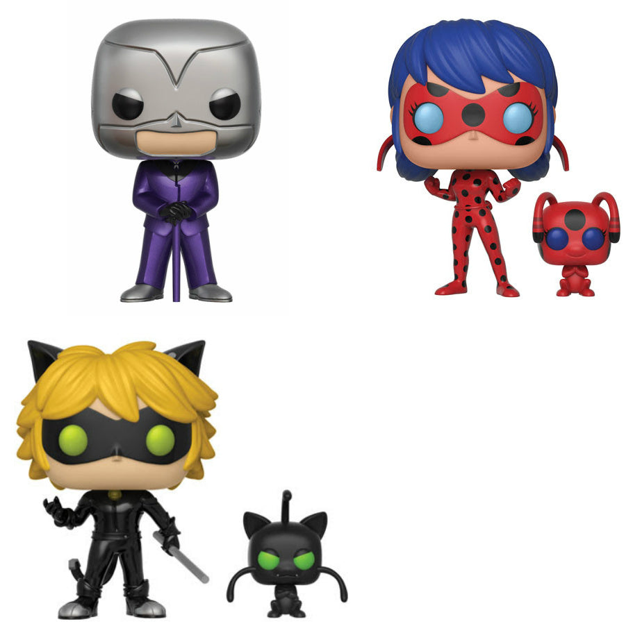 Miraculous: Tales Of Ladybug U0026 Cat Noir Set Of 3   Pre Order