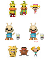 Set of 8 Funko Televsion Pop! - 90's Nickelodeon Wave 2 - 6 Regular and 2 Chase - Pre-order