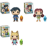 Funko Games Pop! & Buddy - A Set of 3 Ni No Kuni 2 Pop! - Pre-Order