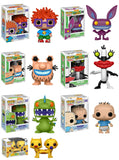 Set of 7 Funko Animation Pop! - Nickelodeon 90's - 7 Regular Releases<br>Pre-Order
