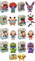 Set of 9 Funko Animation Pop! - Nickelodeon 90's - 7 Regular Releases + 2 Chases<br>Pre-Order